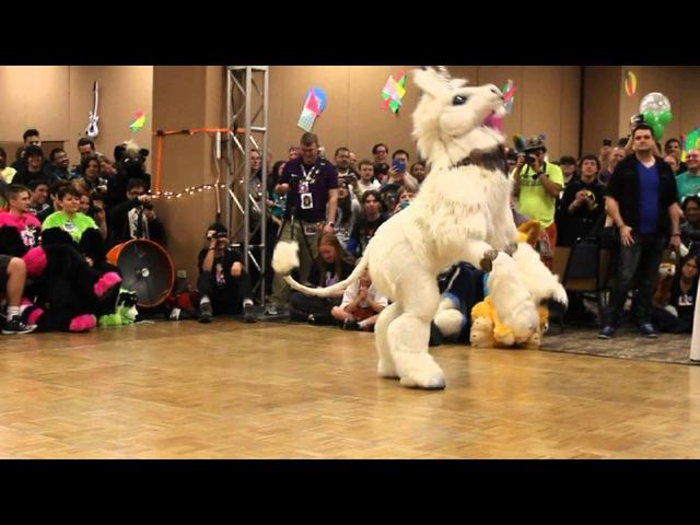 Isabelle Unicorn BLFC 2014 Fursuit Dance Competition