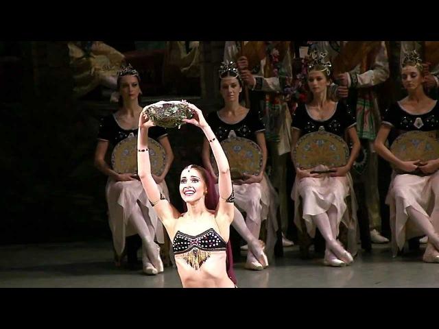 Алина Сомова Баядерка Мариинский Alina Somova Bayadere Mariinsky Ballet