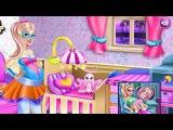 Барби Игры—Супер Барби Дисней Принцесса беременна—Онлайн Видео Игры Для Детей Мультфильм 2015