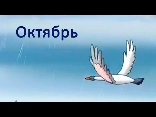 Развивающие мультфильмы Совы - Времена Года - Октябрь