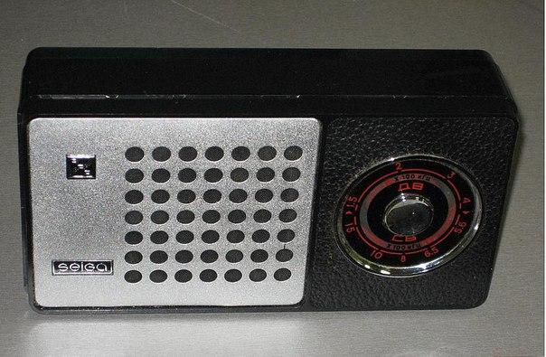радиоприемник Селга-404.