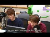 D.O, Chen - 150503 KBS-R Cool FM K-Pop Planet - [ENG SUB]