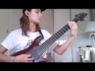 Thy Art Is Murder - The Purest Strain Of Hate (Guitar Cover)