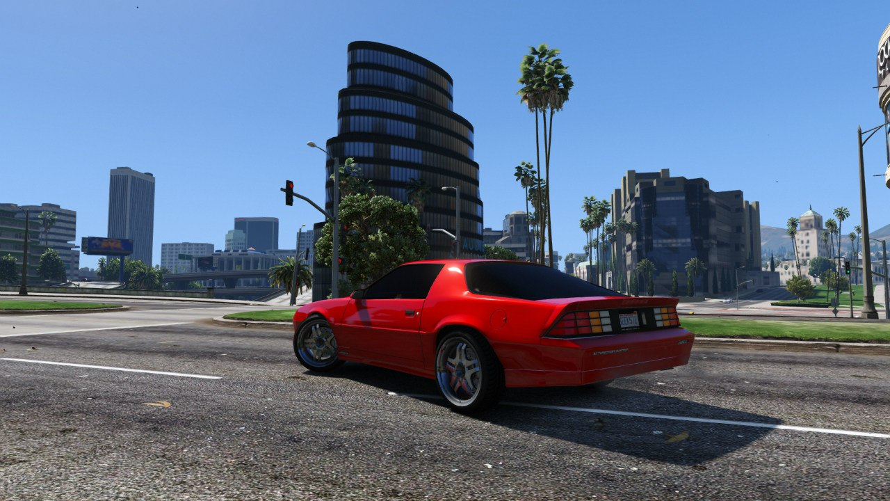 Chevrolet Camaro IROC-Z [BETA 2] для GTA V - Скриншот 3