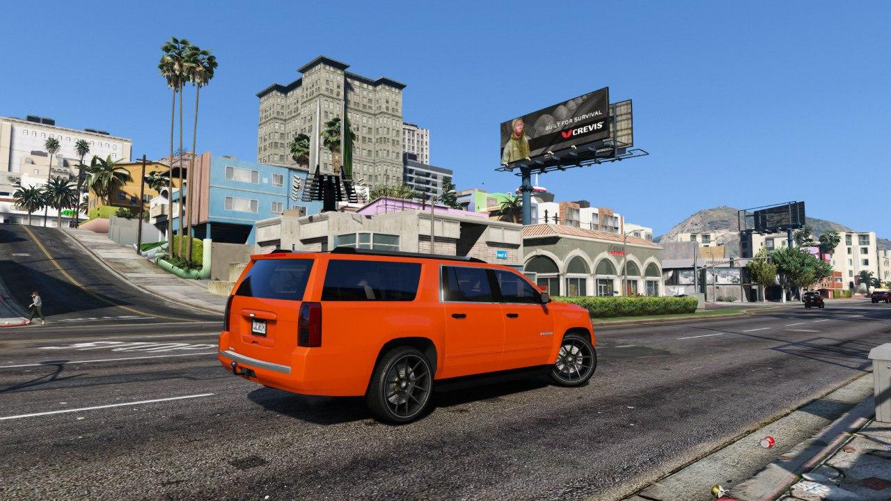 2015 Chevrolet Suburban для GTA V - Скриншот 2