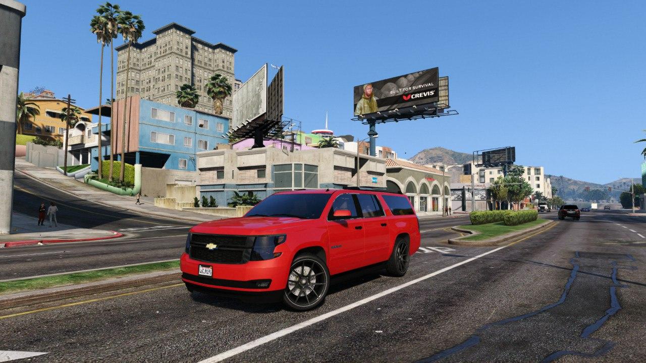 2015 Chevrolet Suburban для GTA V - Скриншот 1