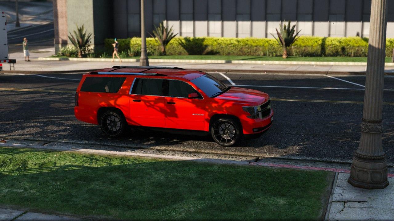 2015 Chevrolet Suburban для GTA V - Скриншот 3