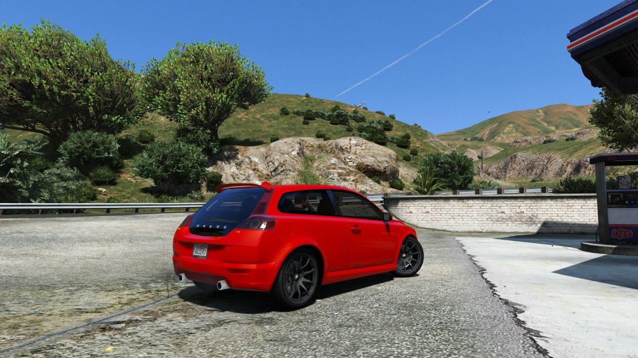 Volvo C30 T5 для GTA V - Скриншот 1