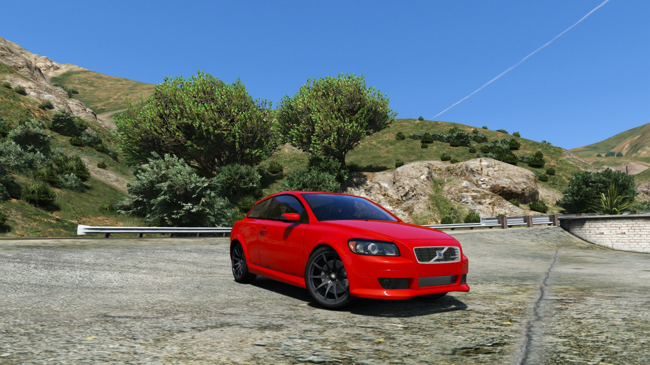 Volvo C30 T5 для GTA V - Скриншот 2