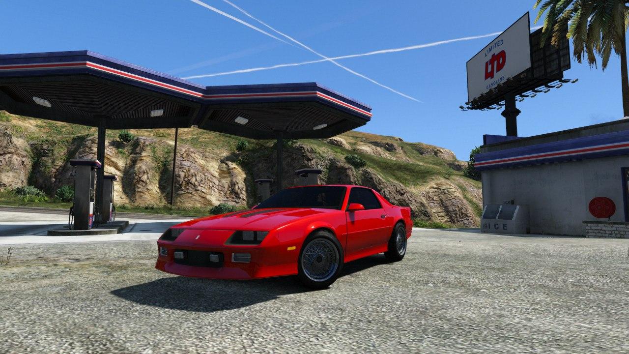 Chevrolet Camaro IROC-Z [BETA 2] для GTA V - Скриншот 1