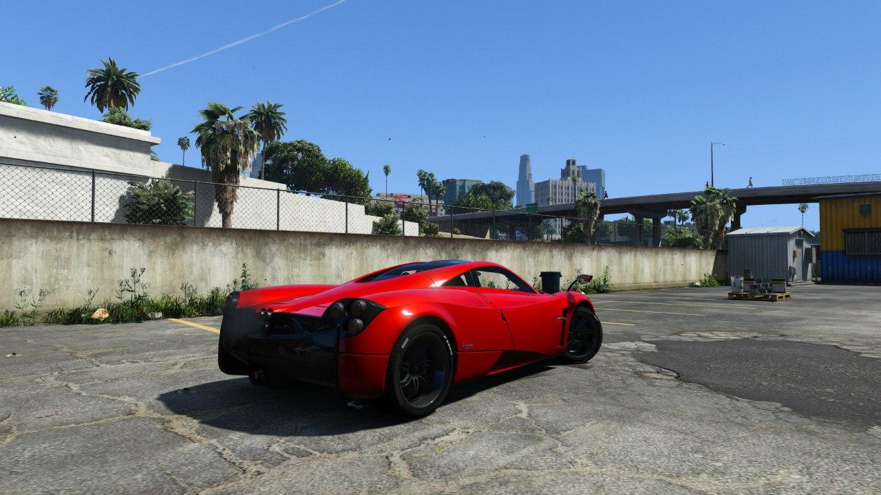2013/14 Pagani Huayra для GTA V - Скриншот 3