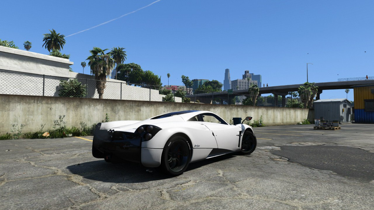 2013/14 Pagani Huayra для GTA V - Скриншот 2