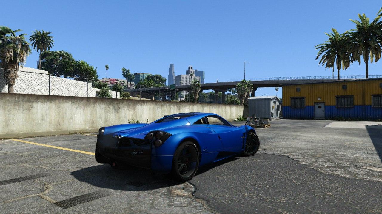 2013/14 Pagani Huayra для GTA V - Скриншот 1