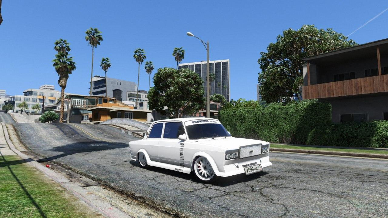 VAZ-2107 Redline 61 для GTA V - Скриншот 2