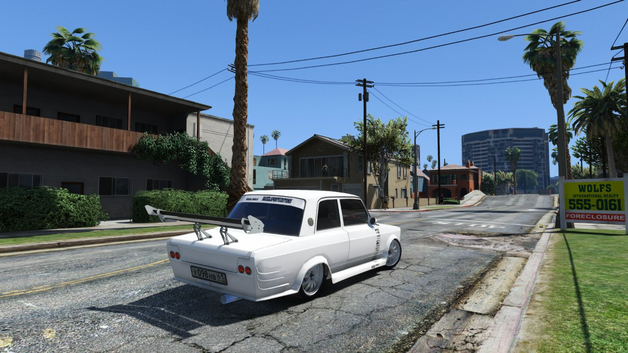 VAZ-2107 Redline 61 для GTA V - Скриншот 1