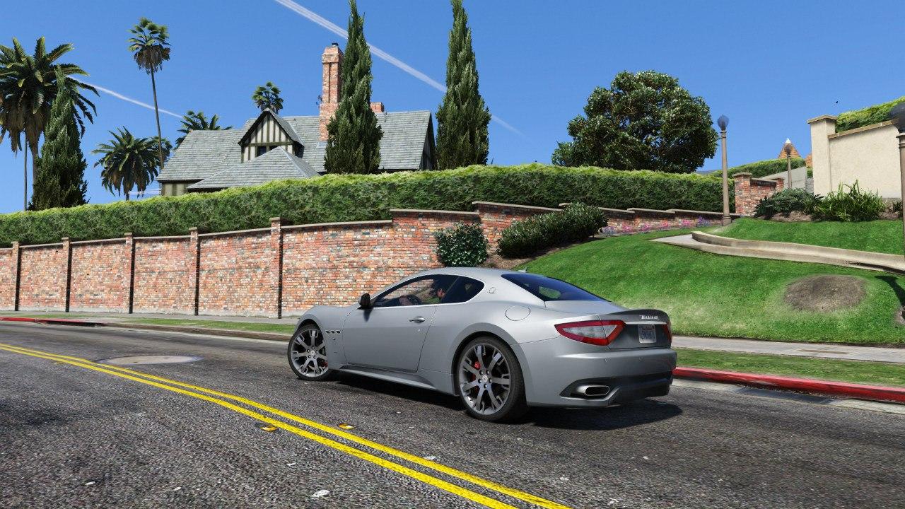 2010 Maserati GranTurismo S для GTA V - Скриншот 3