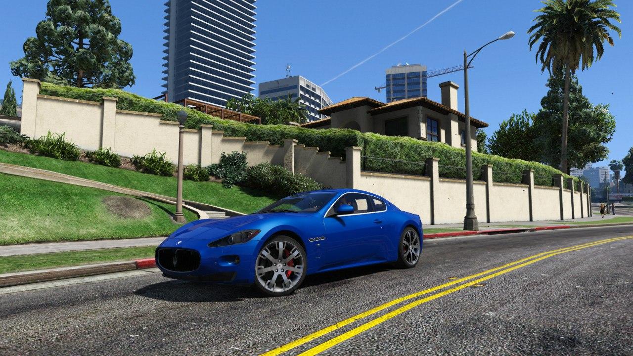 2010 Maserati GranTurismo S для GTA V - Скриншот 2