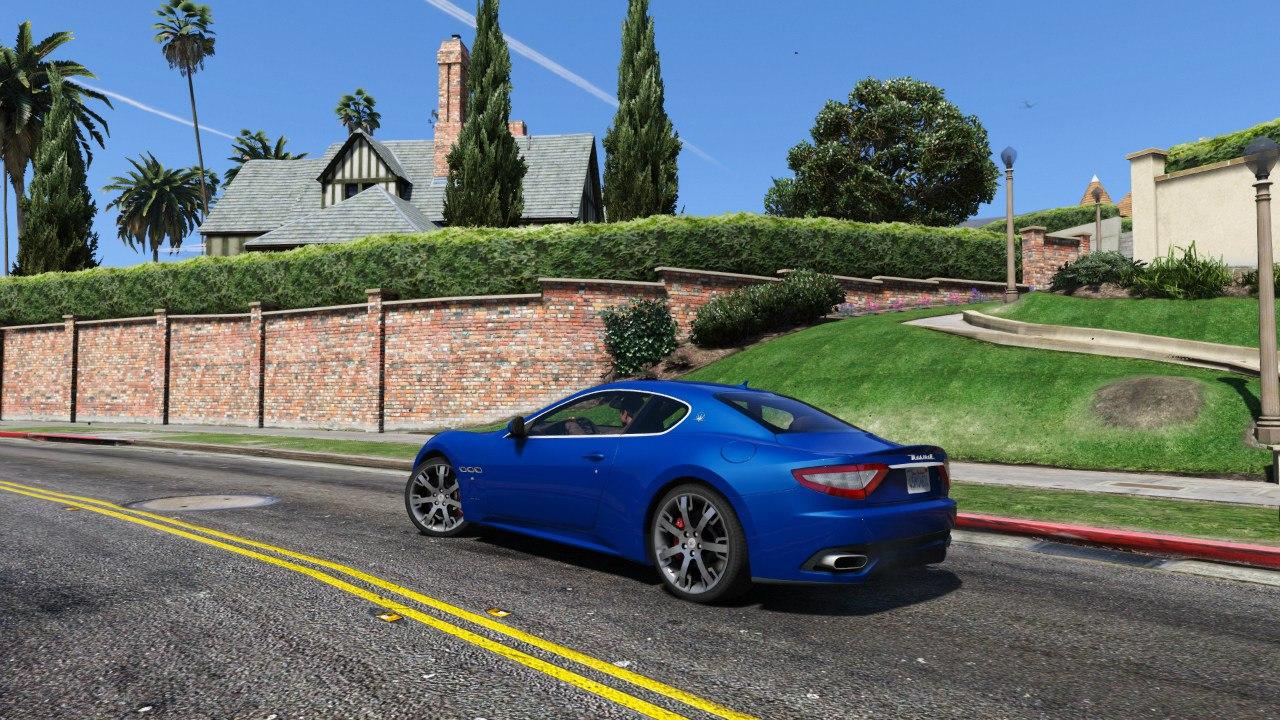 2010 Maserati GranTurismo S для GTA V - Скриншот 1