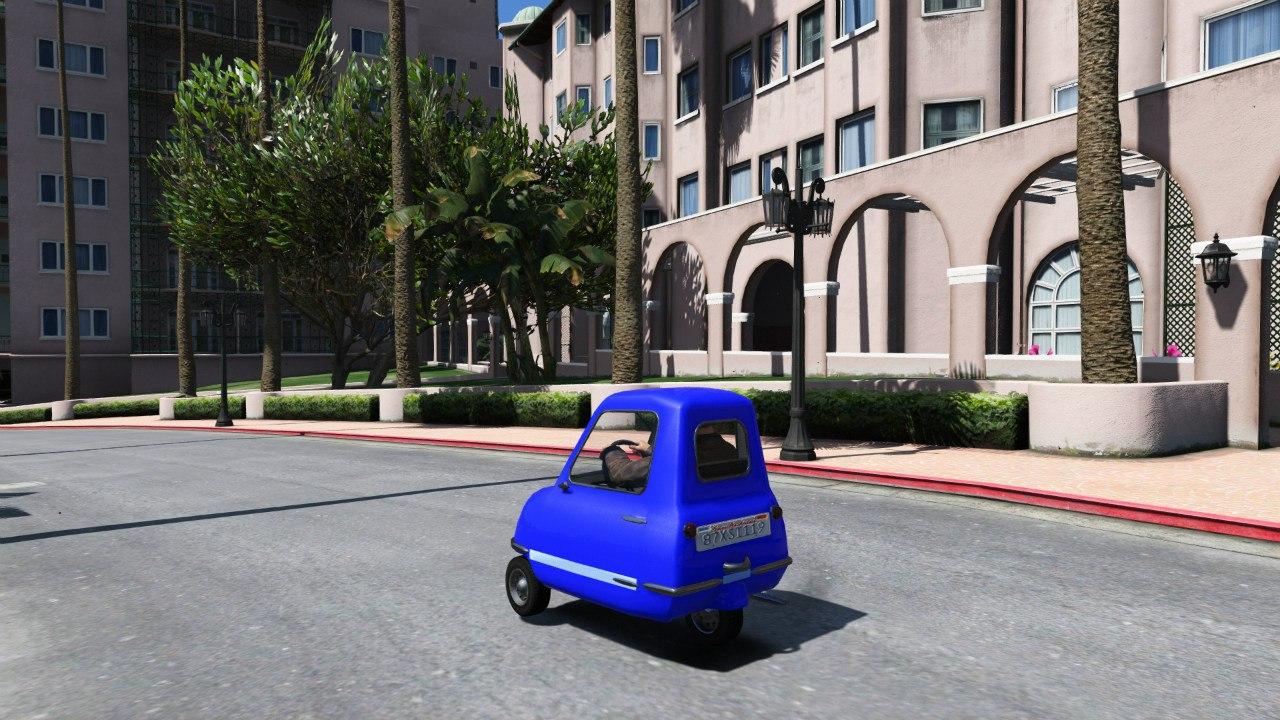 Peel P50 v1.1 для GTA V - Скриншот 3