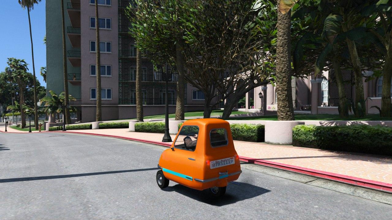 Peel P50 v1.1 для GTA V - Скриншот 1