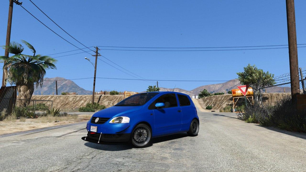 Volkswagen Fox 2.0 для GTA V - Скриншот 3