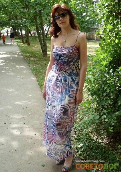 Сшить летнее короткое платье своими руками
