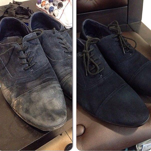 Как покрасить обувь — Dali