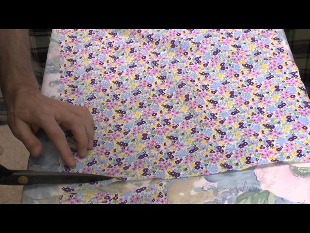 ✂️👗👖👍Как изготовить разрез на рукаве сорочки. Курсы кройки и шитья.