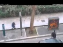 Moment Video When a Gunmen Shoots at Police Man in France, Paris