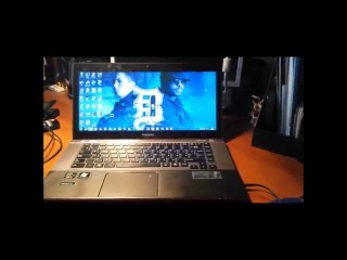 #3 - Обзор на ноутбук Toshiba