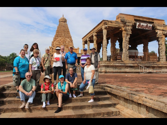South India Full Day 5 - Brihadeswara Tanjore Big Temple
