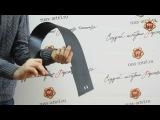 Зимняя заглушка решетки переднего бампера SsangYong Actyon, 2013-н.в. (russ-artel.ru)