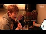 Hanbyul (Led Apple) singing Travie McCoy Billionaire ft. Bruno Mars