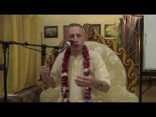 Как мир связан с Богом (БГ 3.9) (Е.М. Враджендра Кумар Прабху) - Москва, 12.04.2015