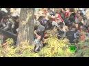 آلاف اللاجئين يتوصلون مظاهراتهم في كرواتيا بعد عبور الحدود الصربية الكرواتية