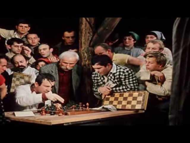 12 стульев Гайдай Савелий Крамаров в роли одноглазого шахматиста