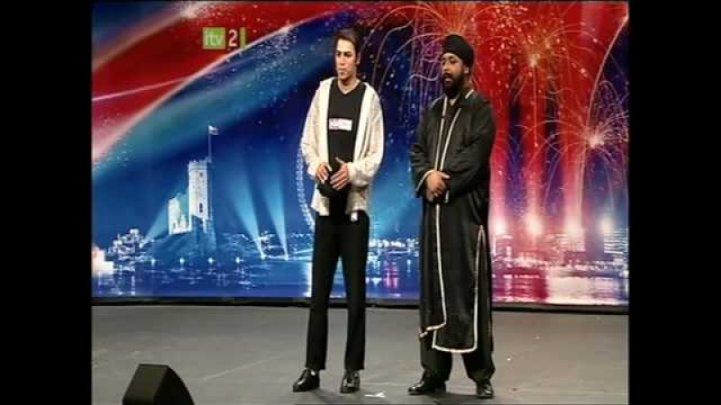 Britains Got Talent - Suleman Mirza MICHAEL JACKSON Tribute - AUDITION UNCUTFULL