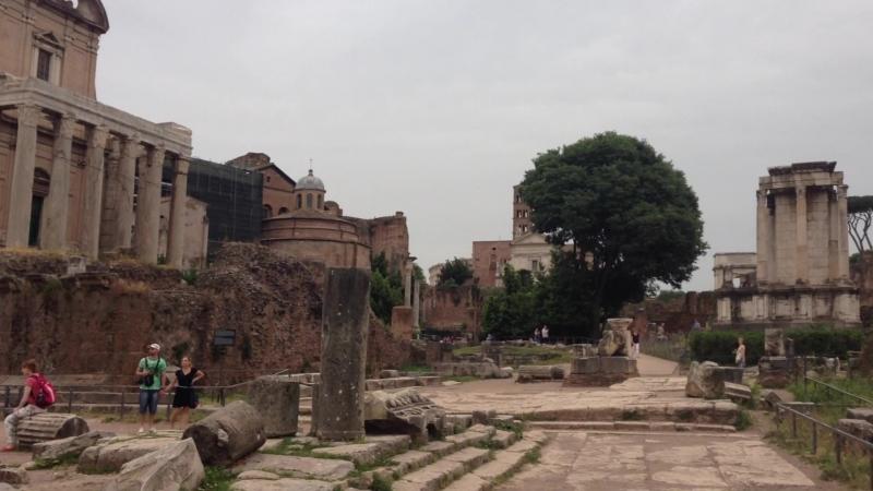 Forum Romanum, Palatino