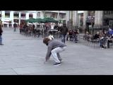 Криштиану Роналду переоделся в бомжа в Мадриде)))) Креативный парень!))))