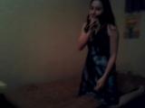 моя подруга училась петь