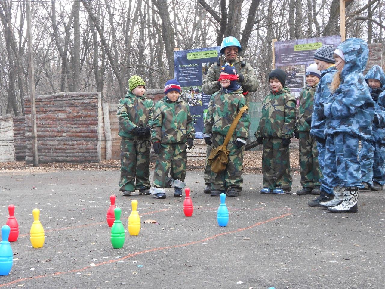 Пейнтбол в Харькове - Фото