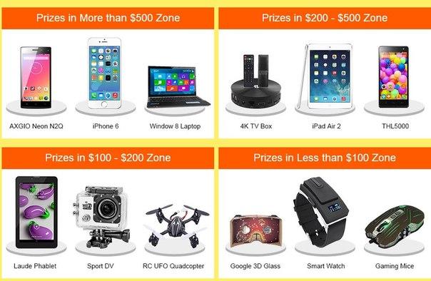 Выиграй приз от TinyDeal