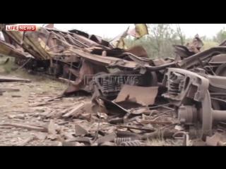 ✔ ОСОБОЕ МНЕНИЕ:  Огромная воронка образовалась после взрыва на химзаводе в Донецке