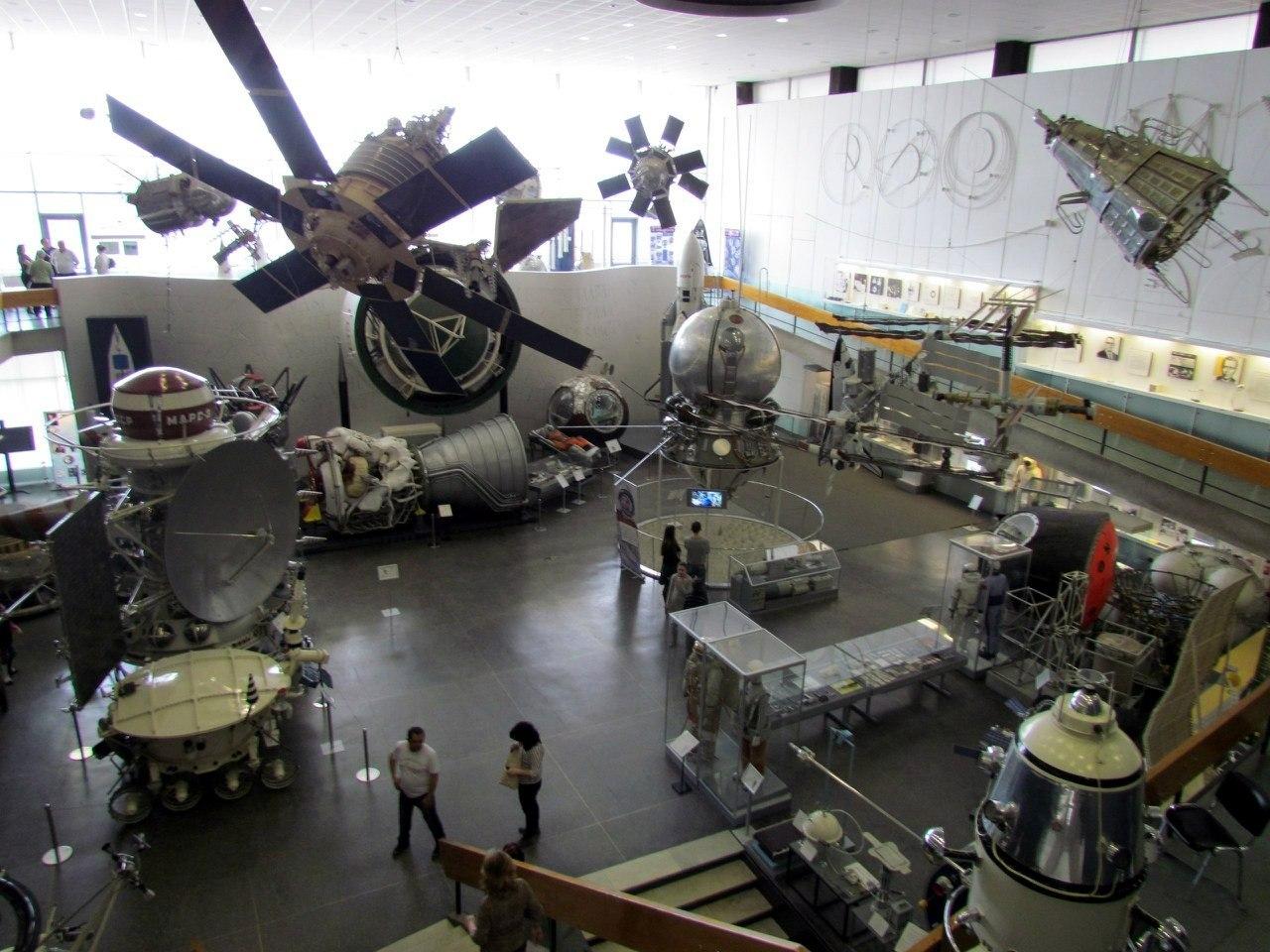 В музее космонавтики