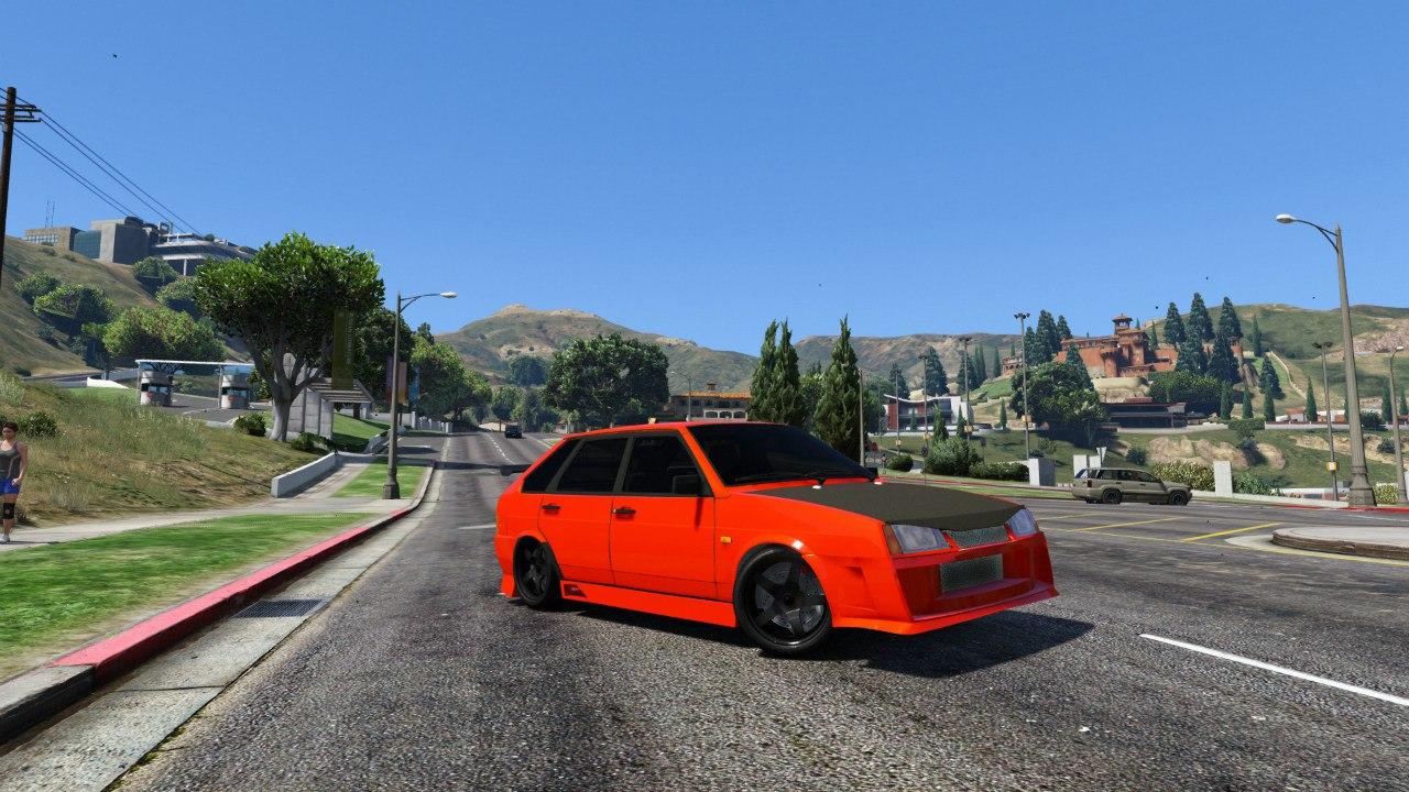 ВАЗ 21093i (Tunable) 1.1 [FINAL] для GTA V - Скриншот 1