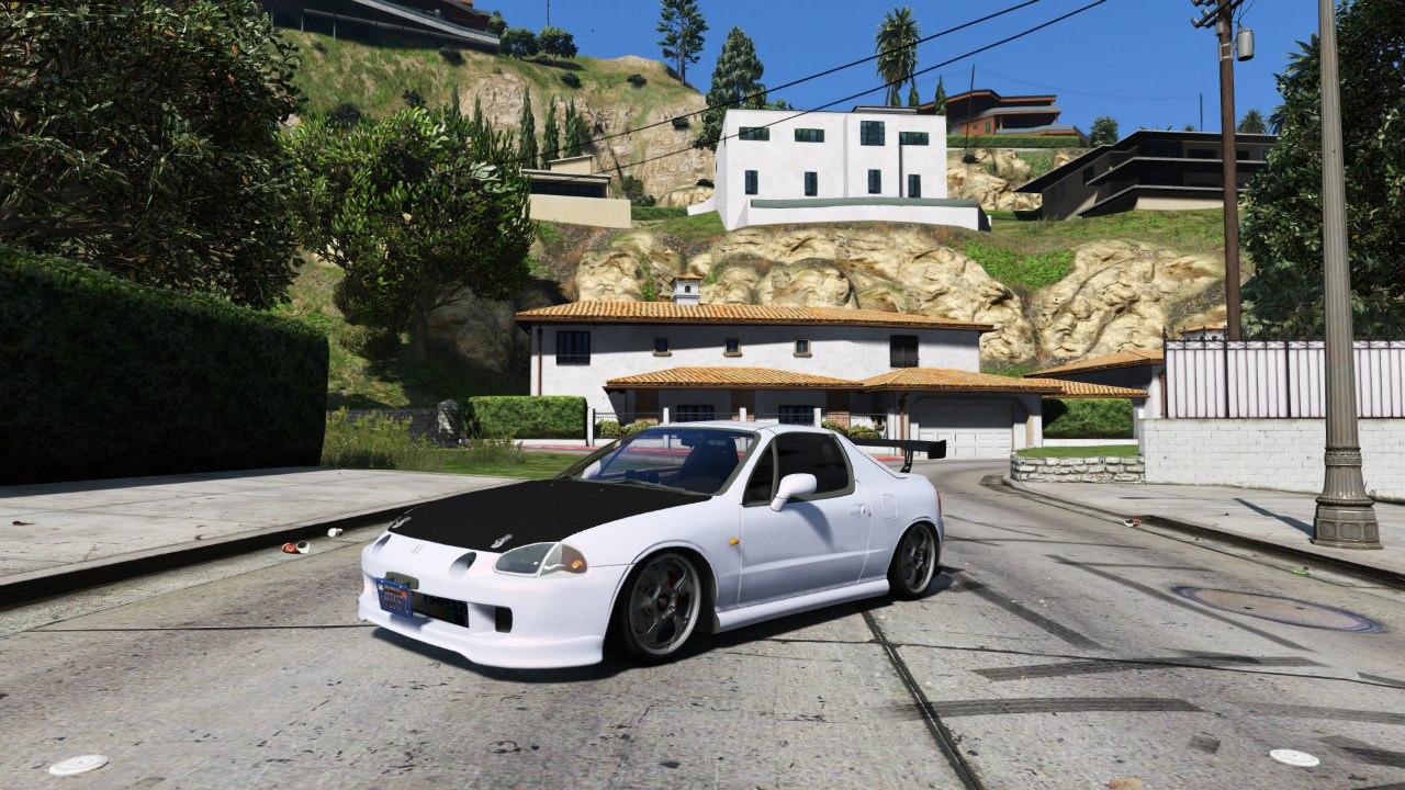 Honda CRX Del Sol для GTA V - Скриншот 2