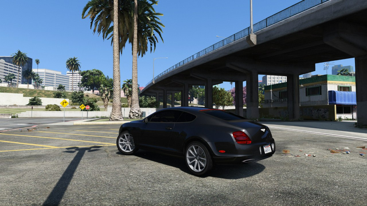 Bentley Continental Supersports [BETA] для GTA V - Скриншот 1