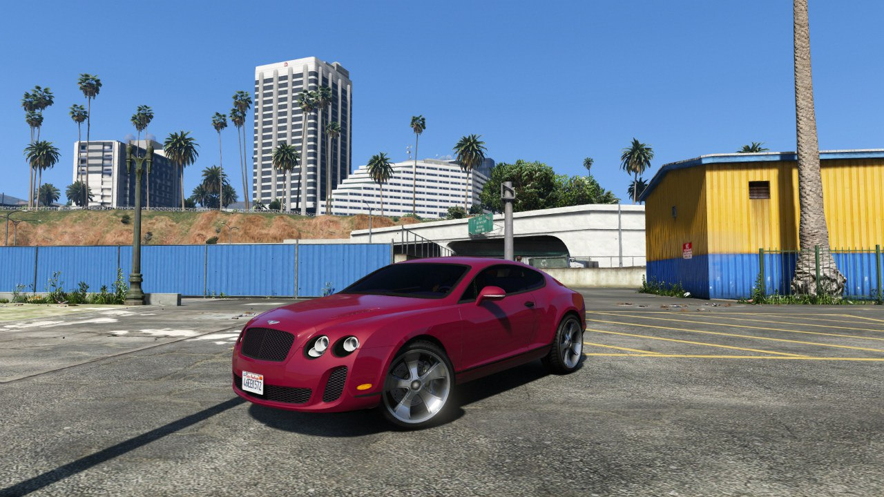 Bentley Continental Supersports [BETA] для GTA V - Скриншот 2