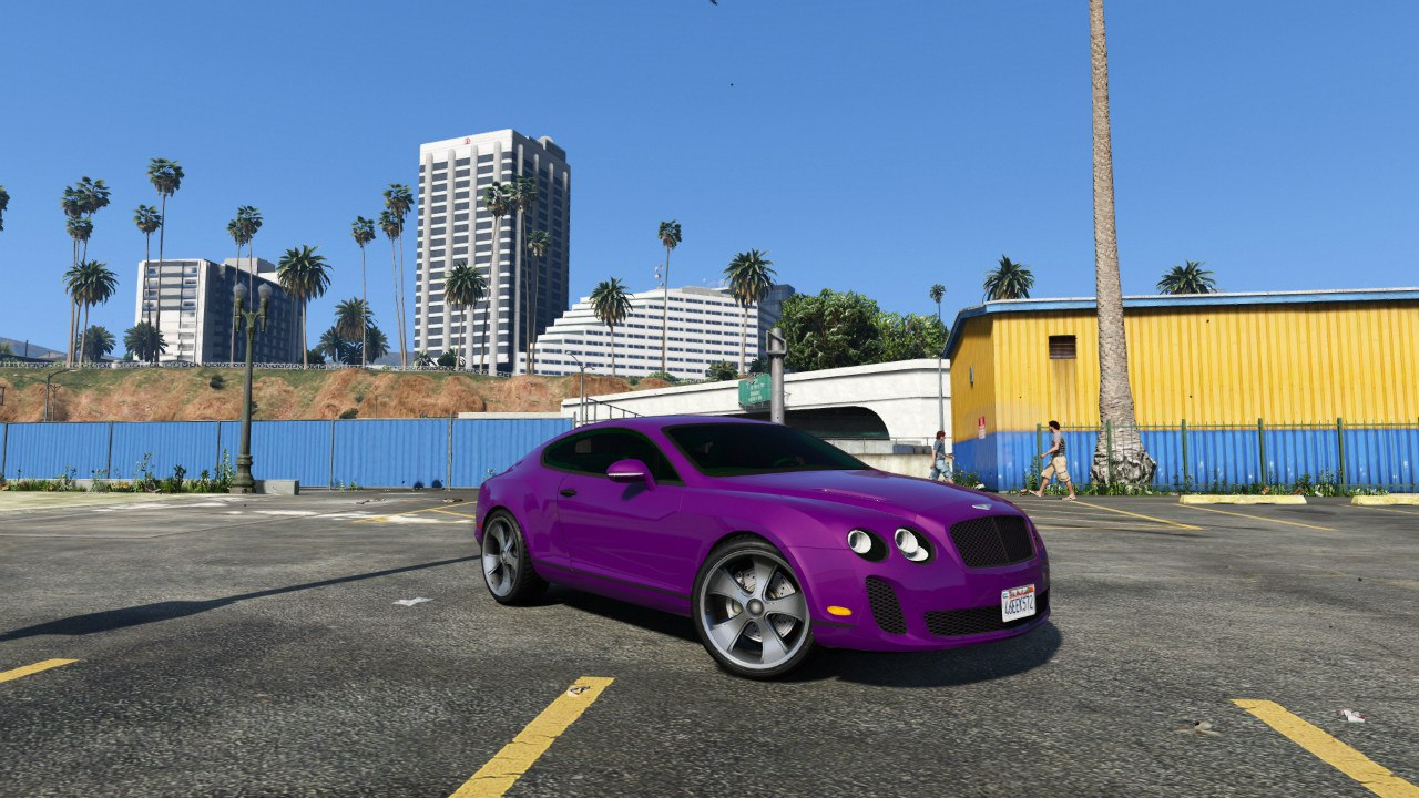 Bentley Continental Supersports [BETA] для GTA V - Скриншот 3