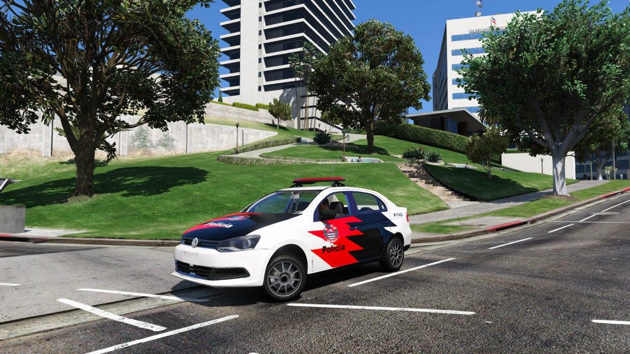 Volkswagen Voyage Políce для GTA V - Скриншот 1